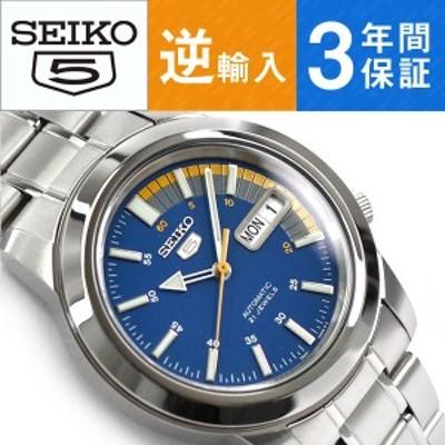 逆輸入 SEIKO5 自動巻き メンズ 腕時計 SNKK27K1