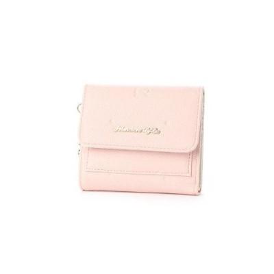 プリムヴェールリズリサ Primevere LIZ LISA フロル リボンドット型押し3折り財布 (32)