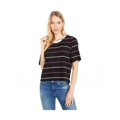 Hurley ハーレー レディース 女性用 ファッション Tシャツ Hello Kitty(R) Jacquard T-Shirt - Black