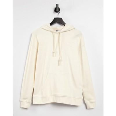 アディダス レディース パーカー・スウェット アウター adidas Originals non-dye logo hoodie