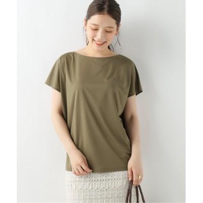 レディース イエナ ニュアンスフレンチTシャツ◆ カーキ フリー