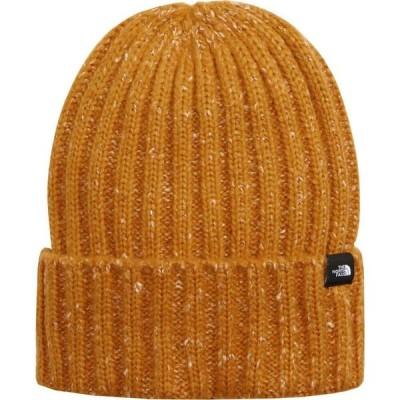 ザ ノースフェイス THE NORTH FACE メンズ ニット ビーニー 帽子 Marled Rib Logo Beanie Citrine Yellow