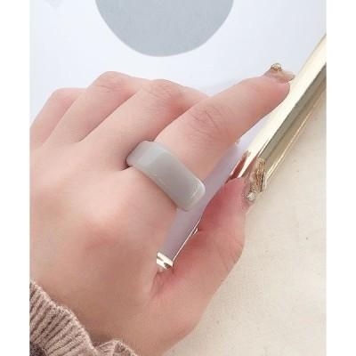 指輪 マーブルスクエアリング(AR)