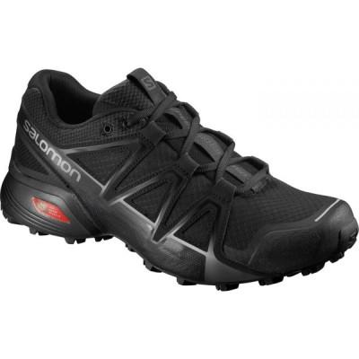 サロモン Salomon メンズ ランニング・ウォーキング シューズ・靴 Speedcross Vario 2 Running Shoes Black/Black