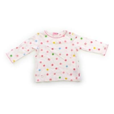 ホットビスケッツ HotBiscuits Tシャツ・カットソー 80サイズ 女の子 子供服 ベビー服 キッズ