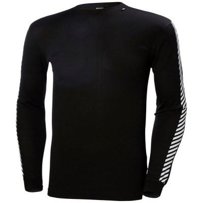 ヘリーハンセン メンズ Tシャツ トップス Helly Hansen Lifa Stripe Crew