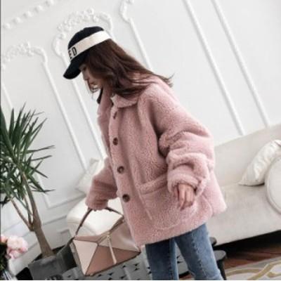 毛皮コート ショート丈ジャケット 上着 レディース 旅行 アウター フェイクファー 通勤 暖かい 防寒 カジュアル