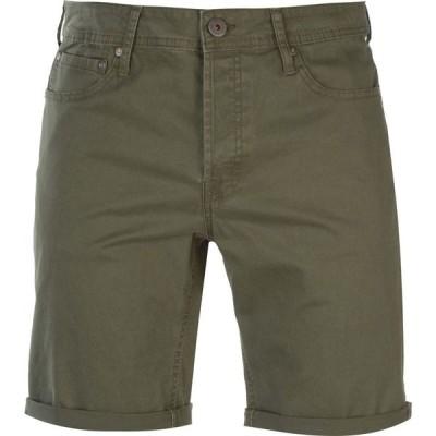 ジャック&ジョーンズ Jack and Jones メンズ ショートパンツ ボトムス・パンツ Jeans Intelligence Rick Shorts Olive Night