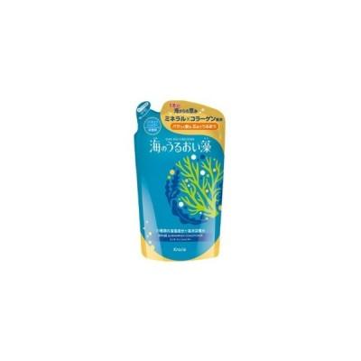 「クラシエ」 海のうるおい藻 リンスインシャンプー つめかえ用 400mL 「日用品」