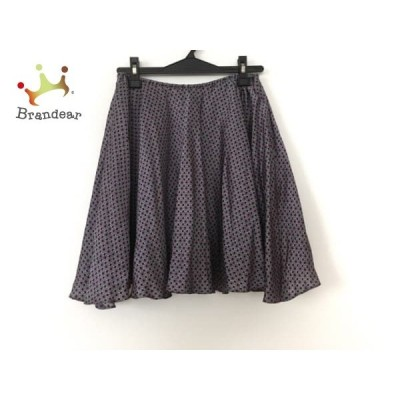 ザ ヴァージニア The Virgnia スカート サイズ900 レディース グレー×黒×ピンク ウエストゴム               スペシャル特価 20191029