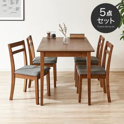 ダイニングテーブル 5点セット ダイニングテーブルセット ベンチ ダイニングセット 食卓 テーブル セット チェア シンプル おしゃれ 木製 天然木 福袋 新生活