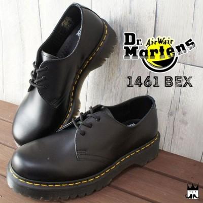 ドクターマーチン Dr.Martensメンズ レディース 21084001 CORE 1461 BEX 3 EYELET SHOE オックスフォード マニッシュシューズ レースアップ おじ靴
