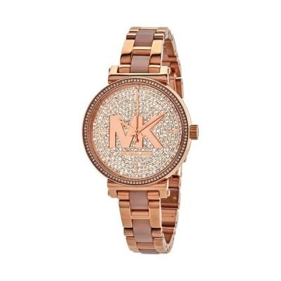マイケルコース/時計/Michael Kors/レディース腕時計/MK4336/Sofie/ソフィ/ローズゴールド/ステンレスベルト