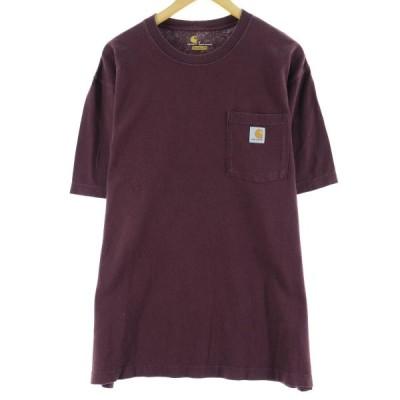 カーハート ワンポイントロゴポケットTシャツ XL /eaa063417