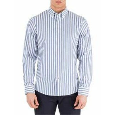 Michael Kors メンズシャツ Michael Kors Long Sleeve Shirt Dress Shirt Chambray