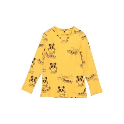 MINI RODINI T シャツ イエロー 3 オーガニックコットン 95% / ポリウレタン 5% T シャツ