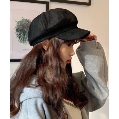 ZealMarket/SFW / レディース 帽子 キャップ 無地 キャスケット コーデ 防寒 保温 スエード WOMEN 帽子 > キャスケット