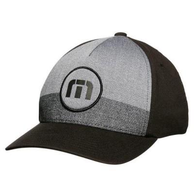 トラビスマヒュー 帽子 アクセサリー メンズ TravisMathew Men's Wyatt Golf Hat Black