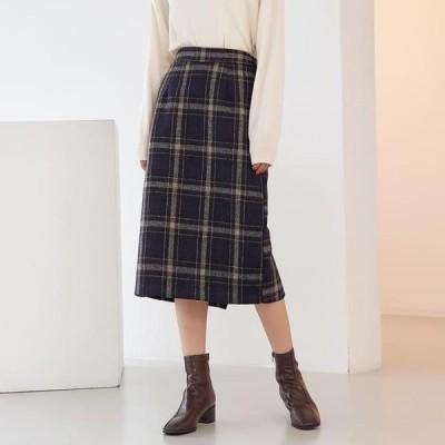 TWEE レディース スカート Jay soft check skirt