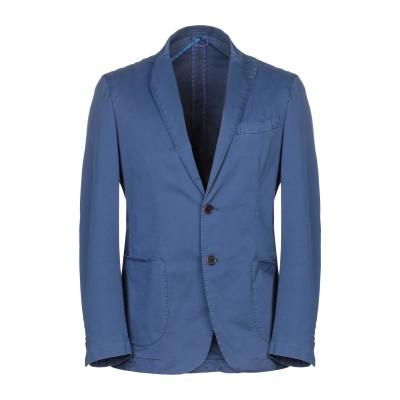 JERRY KEY テーラードジャケット ブルーグレー 50 コットン 97% / ポリウレタン 3% テーラードジャケット