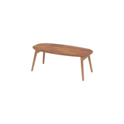 ds-1806894 折りたたみテーブル/ローテーブル 【幅90×奥行45×高さ34cm】 木製 【完成品】 〔リビング ダイニング〕 (ds1806894)