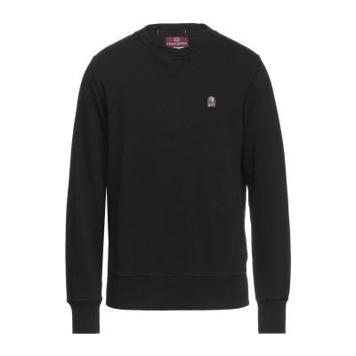 PARAJUMPERS スウェットシャツ ブラック M コットン 100% スウェットシャツ