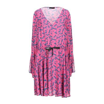 PLEASE ミニワンピース&ドレス フューシャ S ポリエステル 100% ミニワンピース&ドレス