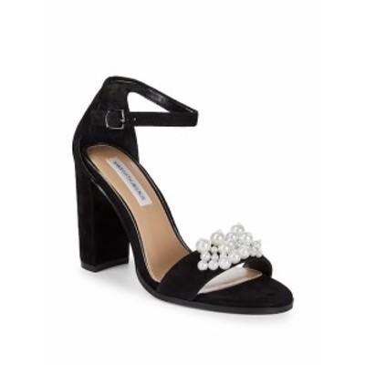 サックスフィフスアベニュー レディース シューズ サンダル Pearl Embellished Sandals