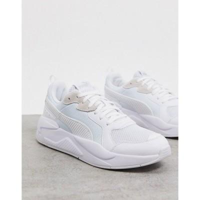 プーマ メンズ スニーカー シューズ Puma X-Ray sneaker in white White