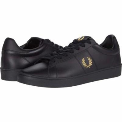 フレッドペリー Fred Perry メンズ シューズ・靴 Spencer Leather Black/Metallic Gold