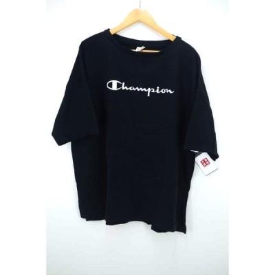 チャンピオン Champion カラー刺繍ビッグtシャツ レディース M 中古 210319