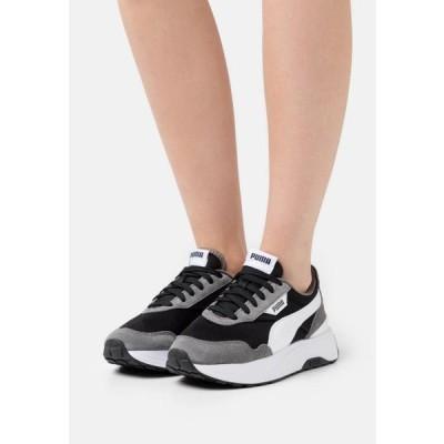 プーマ レディース 靴 シューズ CRUISE RIDER CLASSIC - Trainers - castlerock/white/black