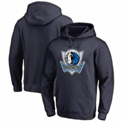 Fanatics Branded ファナティクス ブランド スポーツ用品  Dallas Mavericks Navy Primary Logo Pullover Hoodie