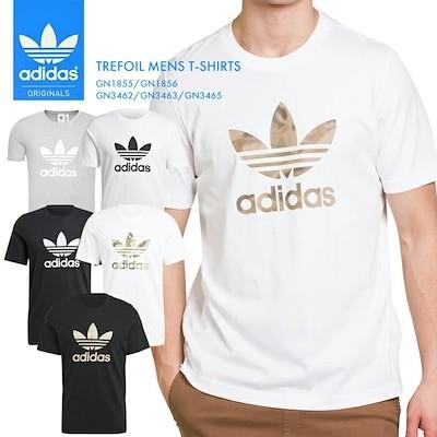 メンズ Tシャツ トレフォイル 半袖 無地 ウェア 運動 スポーツ