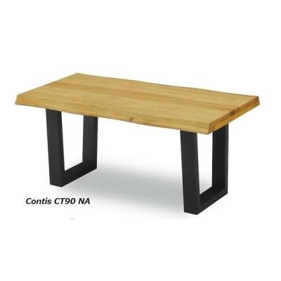 センターテーブル コンティス-2 90 OAK (オーク,天然木,無垢,ナチュラル,モダン,セール,リビングテーブル)