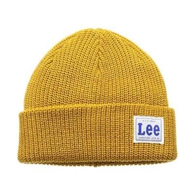 (リー) Lee LE WATCH CAP ACRYLIC 100-176601 (イエロー Free Size)