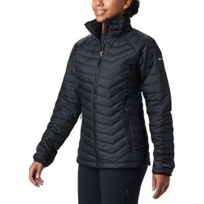 コロンビア レディース ジャケット・ブルゾン アウター Columbia Women's Powder Lite Jacket Black