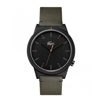 ラコステ  2010991 腕時計 メンズ LACOSTE  レディース レザーベルト 誕生日プレゼント ペアウォッチ※時計は1点での価格です。 オリーブ系