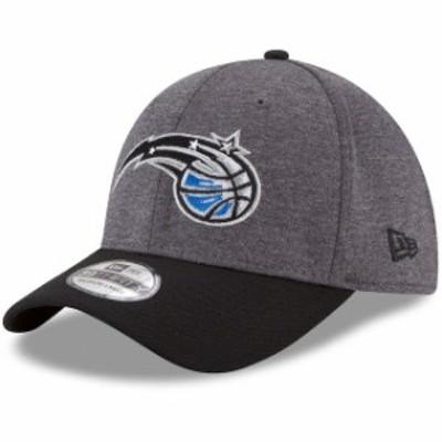 New Era ニュー エラ スポーツ用品  New Era Orlando Magic Heathered Gray/Black 39THIRTY Flex Hat