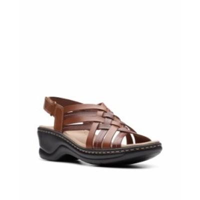 クラークス レディース サンダル シューズ Collection Women's Lexi Carmen Sandal Tan Leather
