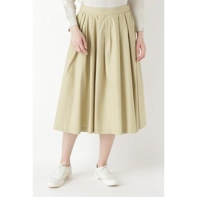スカート ◆ヴィンテージワッシャータックスカート