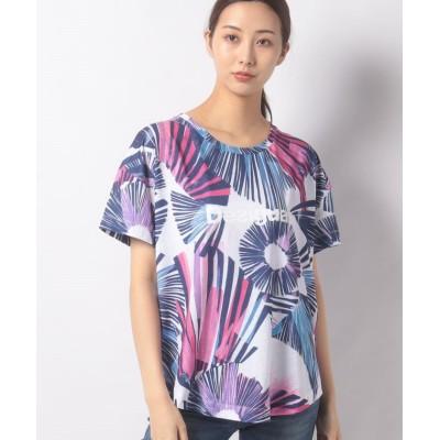 【デシグアル】 Tシャツ TEE OVERSIZE ARTY レディース ホワイト系 S Desigual