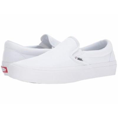 バンズ メンズ スニーカー シューズ Slip-On Pro White/White