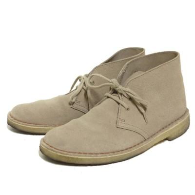 CLARKS ORIGINALS Desert Boots デザートブーツ ベージュ サイズ:25.0cm (三宮店) 210130