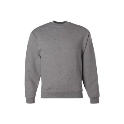 Jerzees Super Sweats Adult Quarter-Zip Cadet Collar Sweatshirt (Oxford) (3X