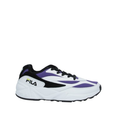 FILA スニーカー&テニスシューズ(ローカット) パープル 42 革 / 紡績繊維 スニーカー&テニスシューズ(ローカット)