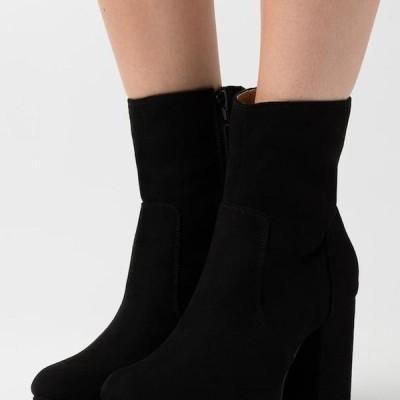 レディース ブーツ ONLBRIN LIFE SHAFT BOOTIE - High heeled ankle boots - black