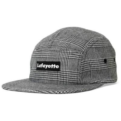 Lafayette ラファイエット SMALL LOGO CHECK JET CAP ジェットキャップ LS201407 GRAY グレー