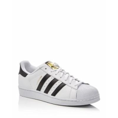 アディダス メンズ スニーカー シューズ Men's Superstar Sneakers White