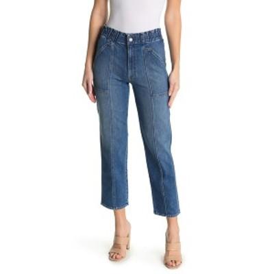 マザー レディース デニムパンツ ボトムス The Springy Ankle Crop Straight Jeans COWBOYS DO
